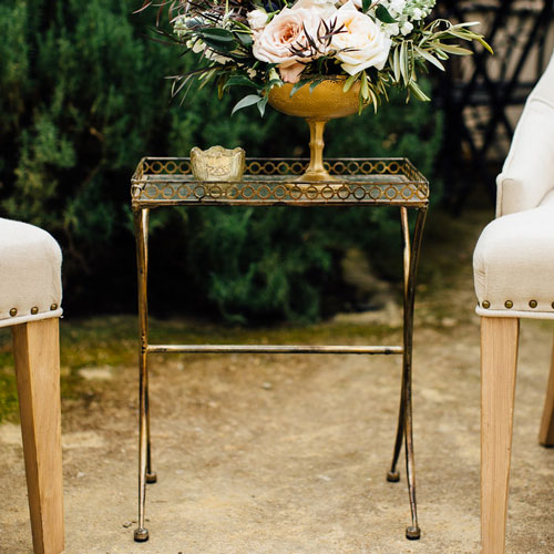 gold+glass+table