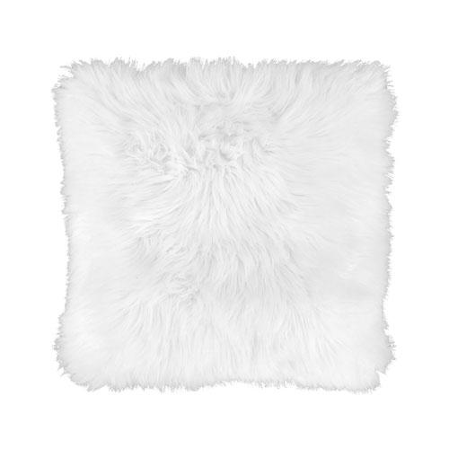 white-faux-fur-pillow