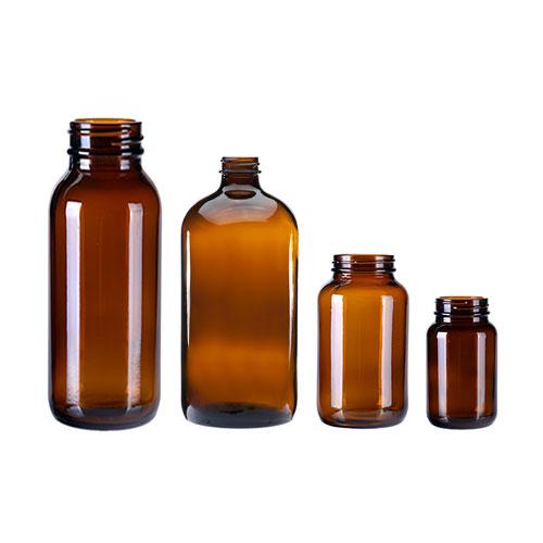 Amber-Glass-Medicine-Bottles