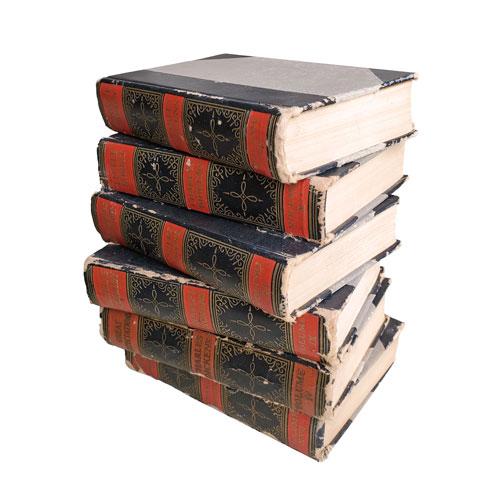 black-red-vintage-books