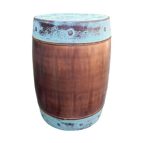 copper-drum-side-table